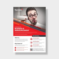 Apollo Elegant Corporate Flyer Template