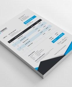 Atlas Premium Corporate Invoice Template