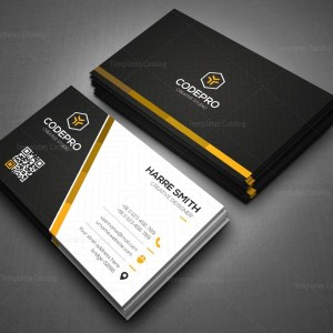 Dark Knight Stylish Corporate Business Card Template