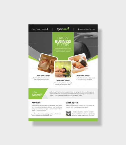 Dionysus Stylish Corporate Flyer Template