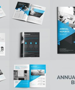 Elegant Professional 32 Pages Brochure Template