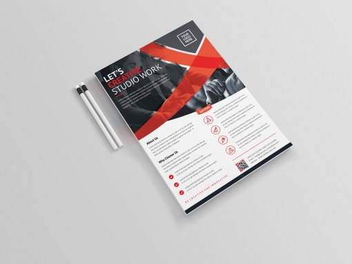 Glaucus Professional Corporate Flyer Template
