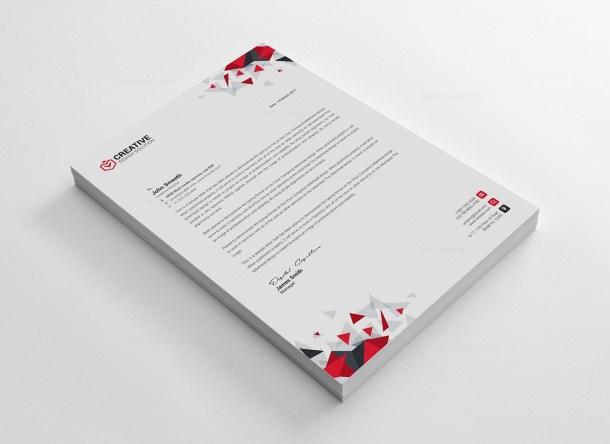 Kapkan Professional Corporate Letterhead Template