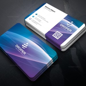 Luminous Elegant Corporate Business Card Template