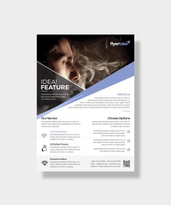 Olympian Stylish Corporate Flyer Template
