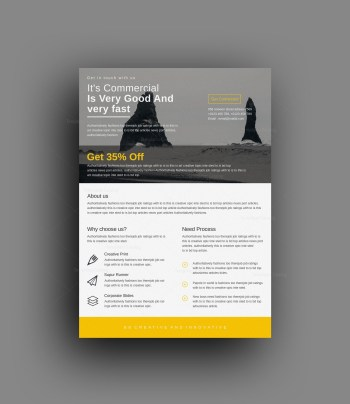 Pontus Professional Corporate Flyer Template