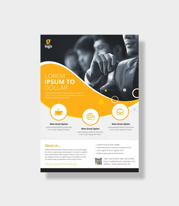 Poseidon Elegant Corporate Flyer Template