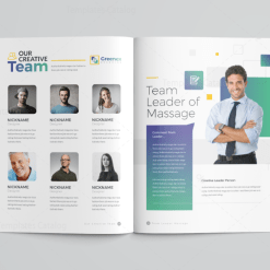 16 Pages Minimalist Elegant Corporate Brochure Template