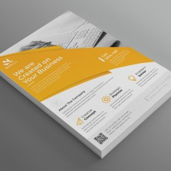 Alexander Modern Professional Business Flyer Template