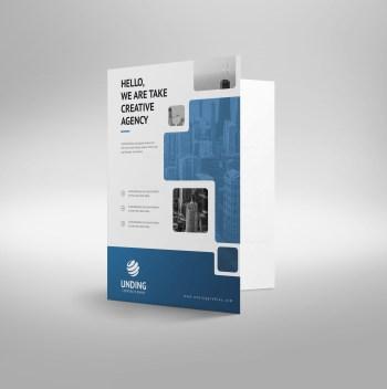 Ares Modern Corporate Presentation Folder Template