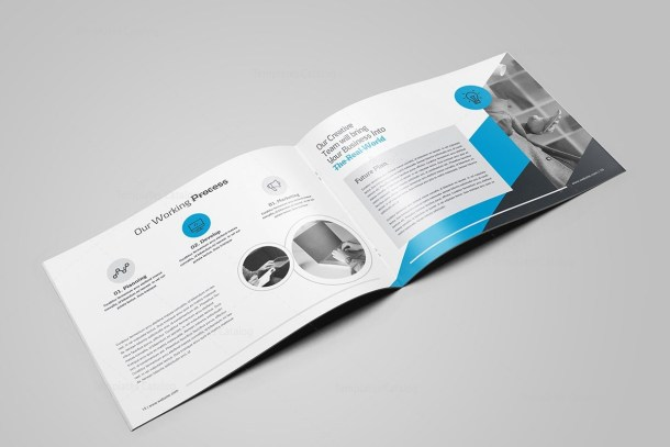 Ares Professional 16 Pages Landscape Magazine Template