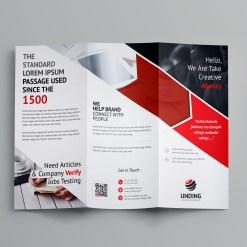 Arrow Corporate Tri-Fold Brochure Template