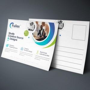 Attis Modern Elegant Postcard Template