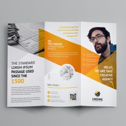 Cerberus Corporate Tri-Fold Brochure Template