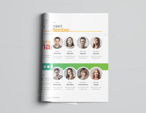 Clean Professional Corporate Brochure Template