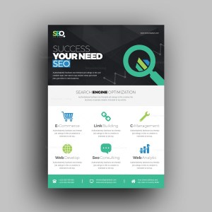E-Commerce Stylish Professional Corporate Flyer Template