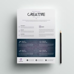 Eagle Modern Premium Business Flyer Template