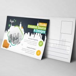 Logic Creative Elegant Postcard Template