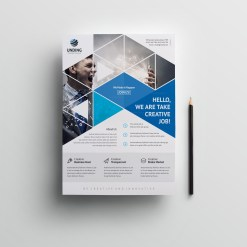 Mars Elegant Premium Business Flyer Template