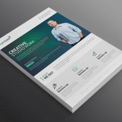 Perseus Modern Professional Business Flyer Template
