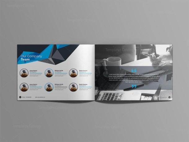 Poseidon 24 Pages Professional Landscape Magazine Template