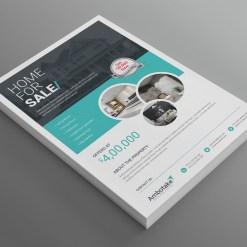 Real Estate Modern Professional Business Flyer Template
