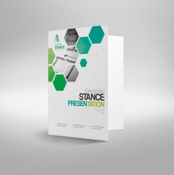 Saturn Modern Corporate Presentation Folder Template