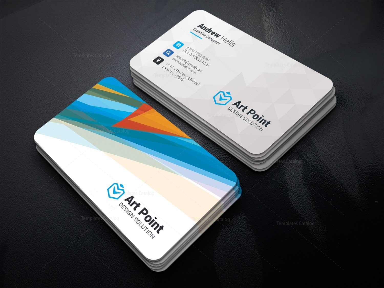 aeolus professional corporate business card template