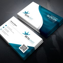 Halley Elegant Corporate Business Card Template