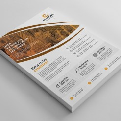 London Elegant Professional Business Flyer Template