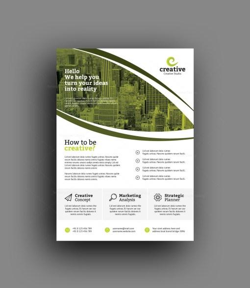 London Elegant Professional Business Flyer Template