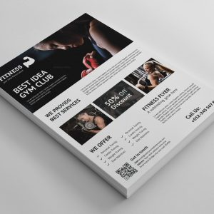 Gym Flyer Archives - Template Catalog