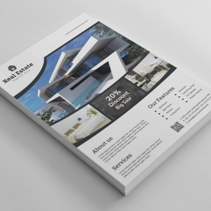Sleek Real Estate Flyer Design Template