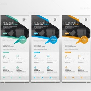 Unicorn Corporate Roll-Up Banner Template