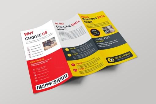 Arizona Creative Tri-fold Brochure Design Template
