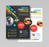 Athena Professional Business Flyer Design Template 001543 ...
