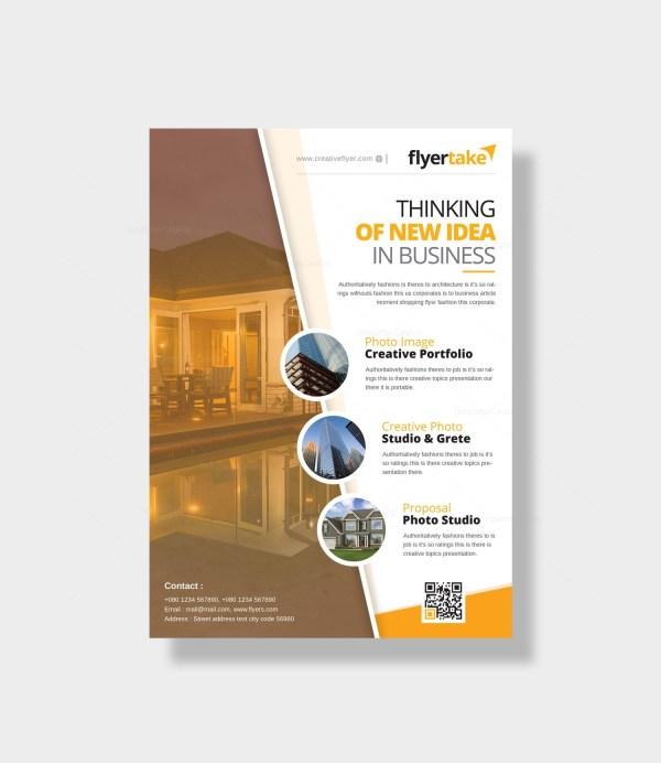 Cincinnati Modern Business Flyer Design Template