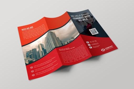 Paris Creative Tri-fold Brochure Design Template