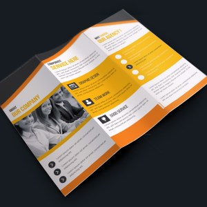 Premium Corporate Creative Tri-fold Brochure Design