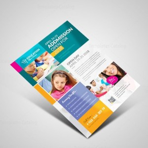 Professional School Flyer Design Template