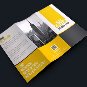 Stylish Corporate Creative Tri-fold Brochure Design