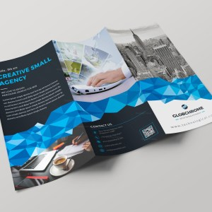 Tallinn Professional Tri-fold Brochure Design Template