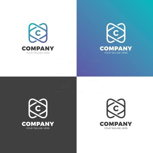 Company Vector Logo Design Template