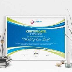 Creative Landscape Certificate Design Template