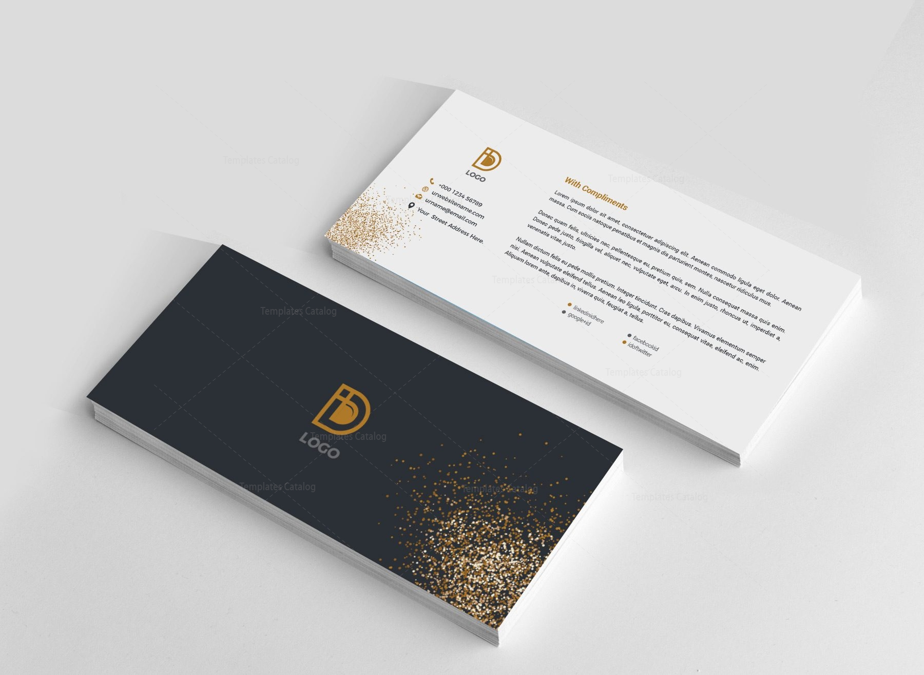 Digital Creative Corporate Identity Template 001823