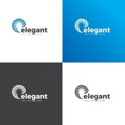 Elegant Circle Logo Design Template