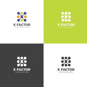 Factor Creative Logo Design Template