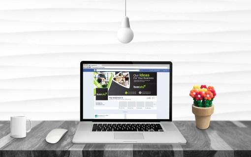 Fancy Facebook Timeline Cover Template