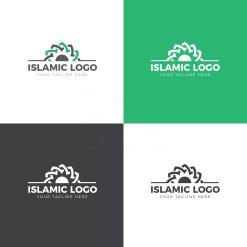 Islamic Logo Design Template
