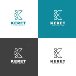 Keret Creative Company Logo Design Template